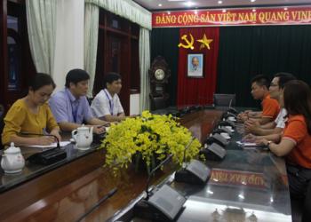 Trường Đại học Kỹ thuật công nghiệp, Đại học Thái Nguyên thảo luận  hợp tác với FPT Thái Nguyên